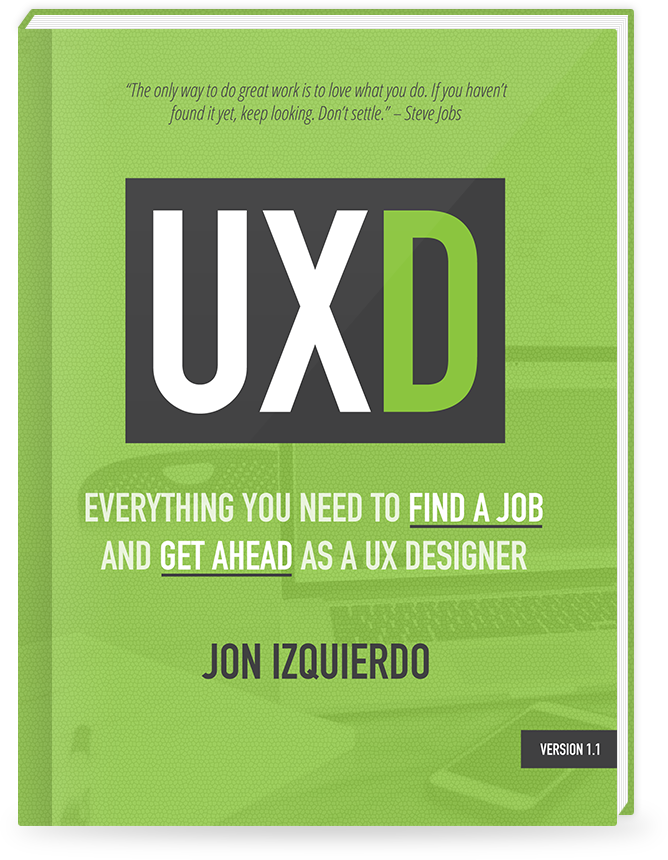 UXD book cover